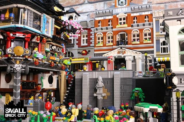 Setting The Lego Ninjago City 70620 Into A Lego City
