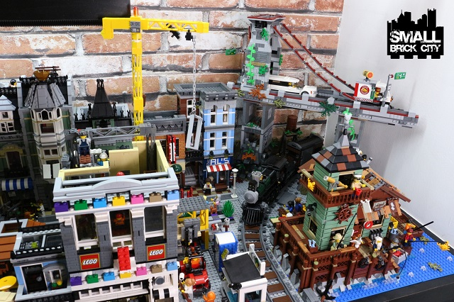 Setting the lego old fishing store 21310 in a lego city for Fishing lego set