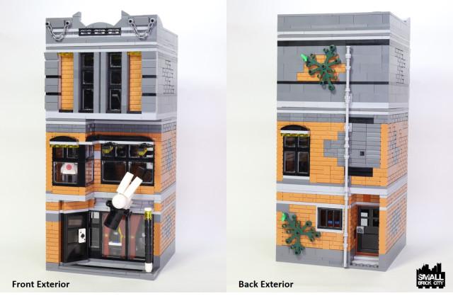 History Of Magic Museum Modular Building Lego Town Eurobricks