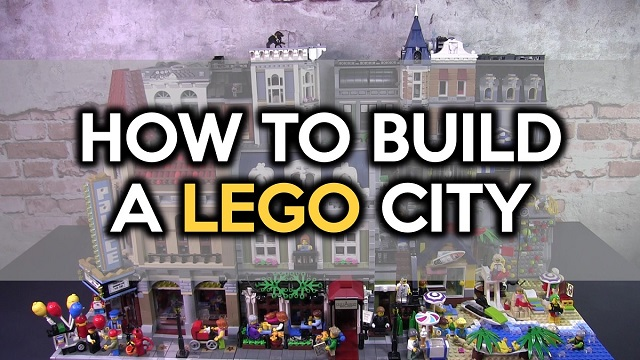 1-Minute Guide on How to Build a LEGO City by Small Brick CIty
