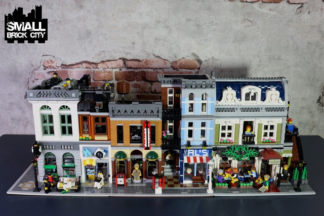 Lego City Buildings Set