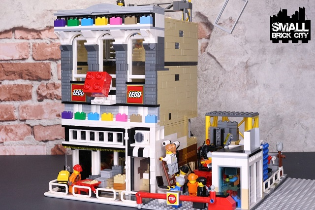 Where To Get Buildings For A Lego City By Small Brick City