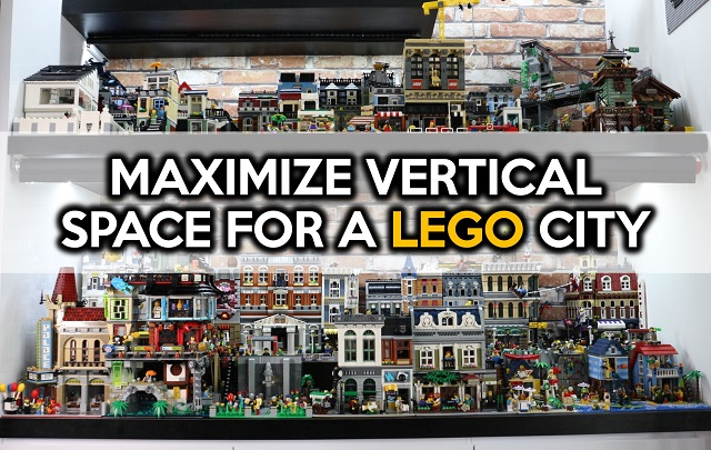 How To Maximize Vertical Space For A Lego City By Small Brick City
