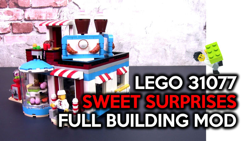 Create a Full Building from LEGO 31077 Sweet Surprises