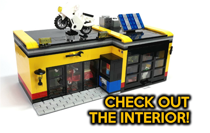 Custom Lego City Designs Layouts In Small Spaces By Small Brick City