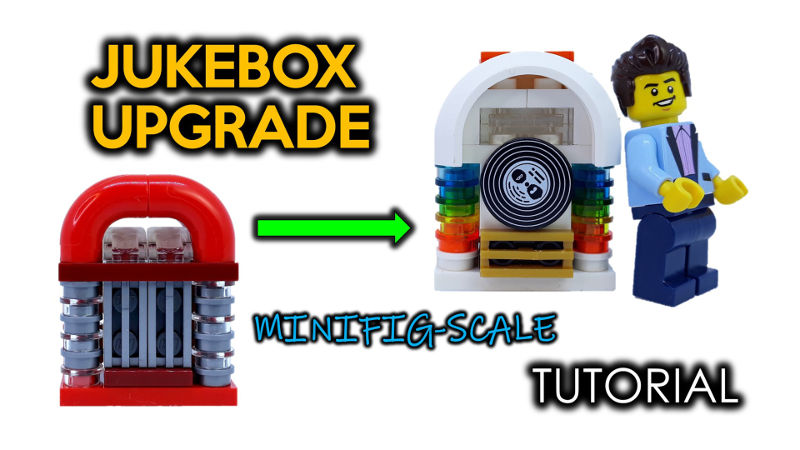 How to Upgrade the LEGO Downtown Diner 10260 Jukebox