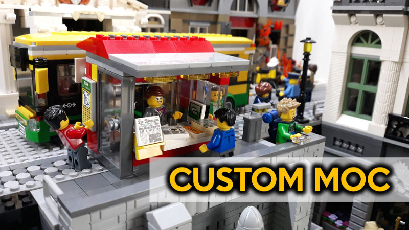 Expert Town MOC INSTRUCTIONS ONLY!! Lego OKTOBERFEST Party City Modular