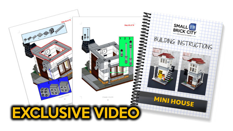 Custom Lego City Designs & Layouts in Small Spaces by Small Brick City