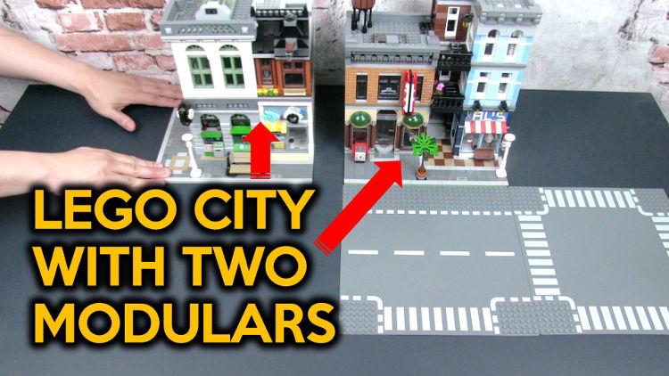 Alternative Set-up for Ninjago City Docks and Ninjago City